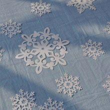 Decoro Tovaglia Frozen Fiocchi di Neve