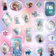 Festa Frozen Cristal Sticker Adesivi