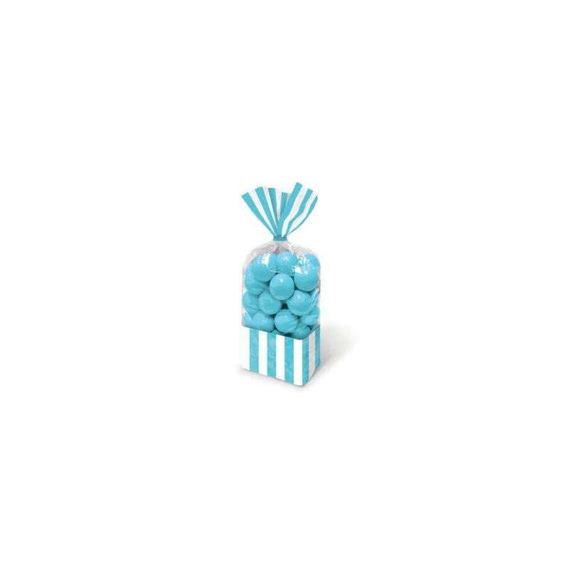 10 sacchetti porta caramelle azzurri wimipops - Porta sacchetti ...