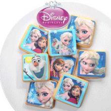 Vesti biscotti Frozen in pasta di zucchero