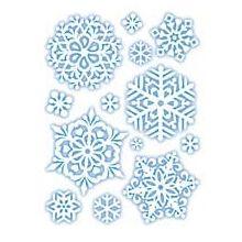 Fiocchi di Neve per Vetro e Plastica Bianchi
