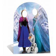Stand Cartonato Frozen per Foto