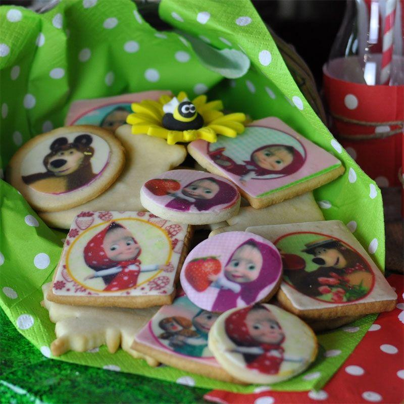 12 Cialde Per Torte E Biscotti Masha E Orso Wimipops