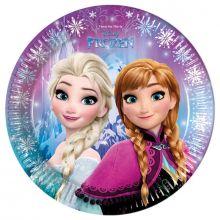 Piatti Frozen Anna Elsa - Luci del Nord