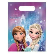 Festa Disney Frozen Ice 6 Borsette Party