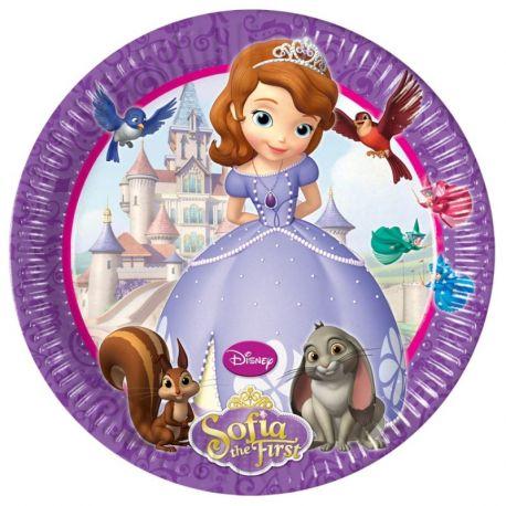 Disney Principessa Sofia Piatti