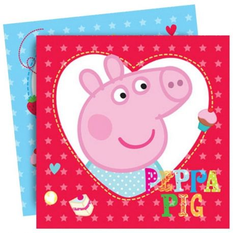 Festa Peppa Pig Tovaglioli di carta