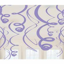 Decoro Spirali Glicine-viola