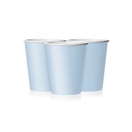 Party Azzurro Bicchieri di Carta 8  pz