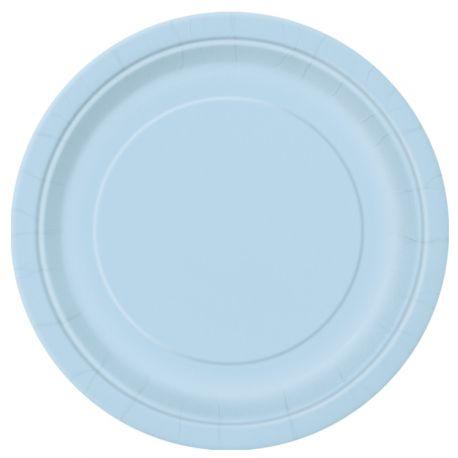 Piatti Azzurri 23 cm 8 pz