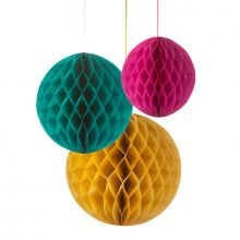 3 Lanterne Mix Colori e misure