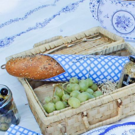 Blue e White Piatti Dessert