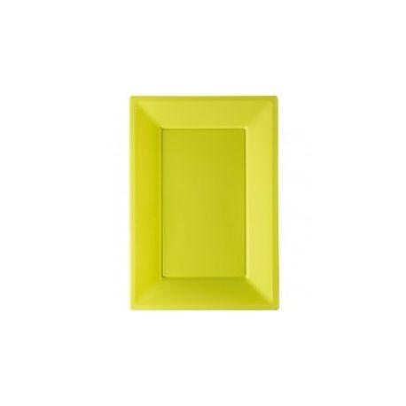 Vassoi plastica Verde 3 pz