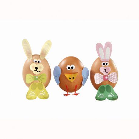 Adesivi decora uova e dolcetti di Pasqua