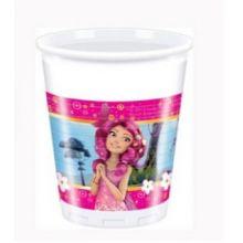 Festa Mia and Me 8 Bicchieri Plastica