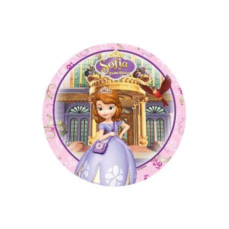Disco in  Zucchero Principessa Sofia