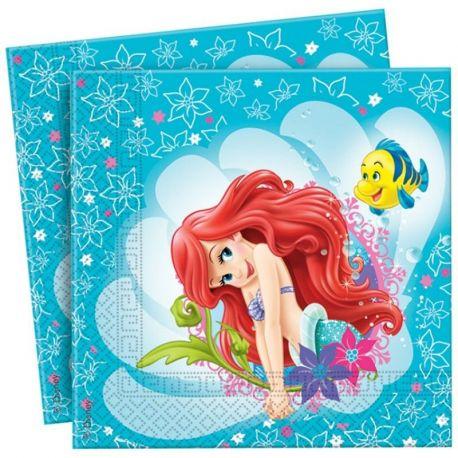 Festa  Sirenetta Ariel Tovaglioli di carta