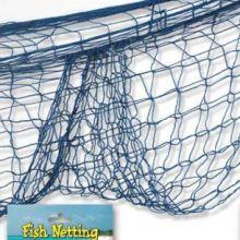 Rete da pesca blu decoro