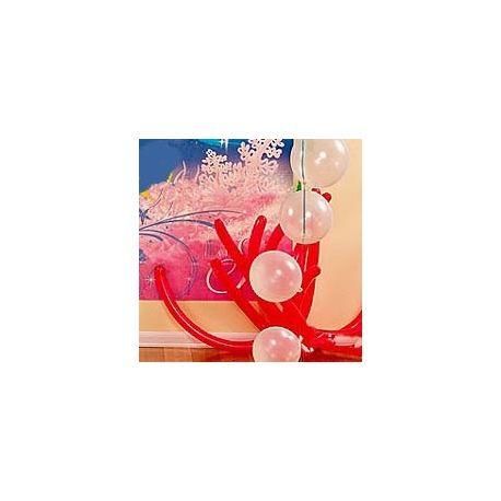 Kit decoro palloncini coralli e bolle
