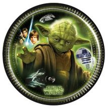 Festa Star Wars  Piatti 20 cm Yoda