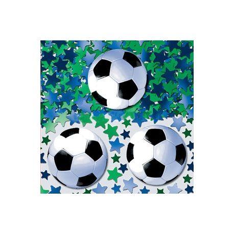 Coriandoli decorativi calcio per tovaglia