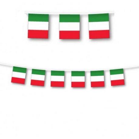 Festone Italia Tricolore 3 m