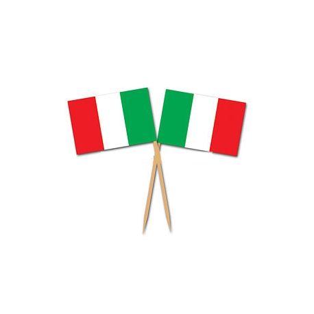 Pick stuzzichini Italia Tricolore