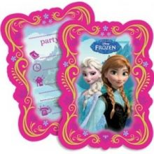 Frozen Biglietti di Invito con busta
