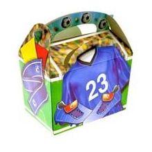Party Box  Calcio Festa Calcio Food Box