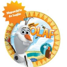 Disney Frozen Olaf Estate Piatti di Carta