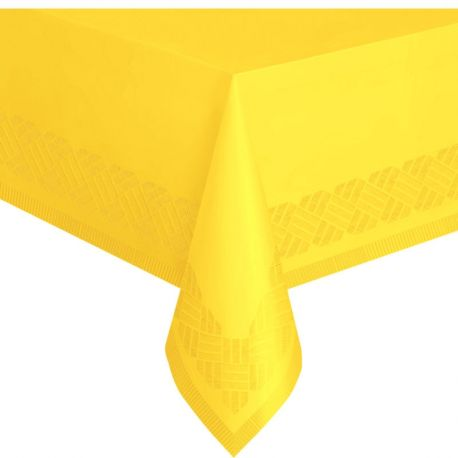 Tovaglia Plastica &Carta Gialla