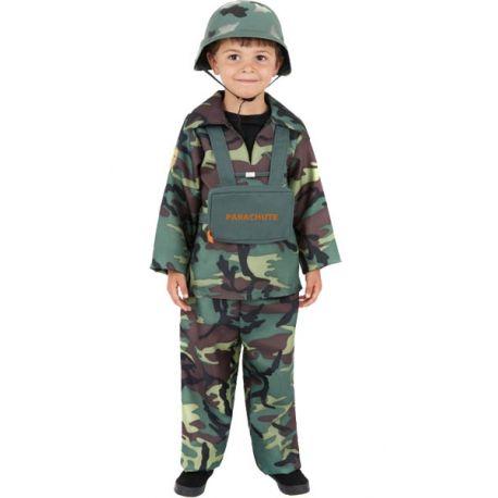 Costume militare bambino
