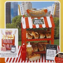 Stand Porta Pop Corn - Hot dog