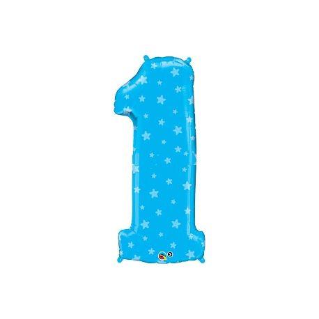 Palloncino Primo Compleanno - Numero 1