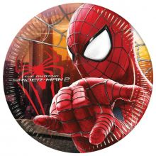Amazing Spiderman 2 Piatti di carta