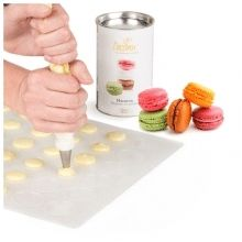 Tappetino per macarons in silicone