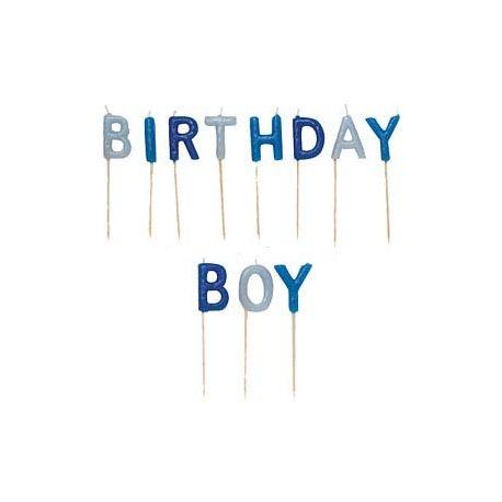 Candeline Birthday Boy