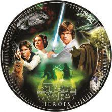 Festa Star Wars  & Heroes Piatti 23 cm