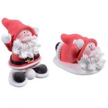 Decorazioni in zucchero 2 Babbo Natale