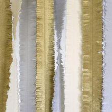 Decorazione strisce metalliche oro-argento