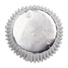 Pirottini per Cupcake Argento metallizzato