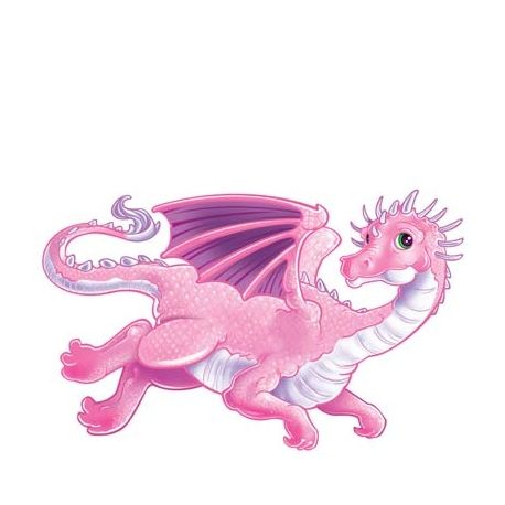 Decoro Drago Rosa