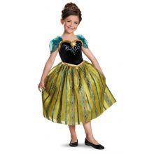Frozen Anna Costume Incoronazione 4-6 anni