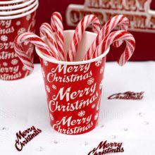 Bicchieri Carta Merry Christmas