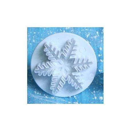 Stampo  Fiocco di neve a espulsione  5 cm