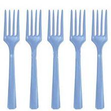 Party Azzurro Forchette Dolce  24 pz