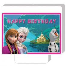 Candelina Frozen Happy Birthday