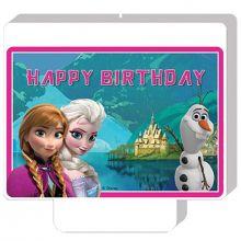 Candela decorativa per torta Frozen