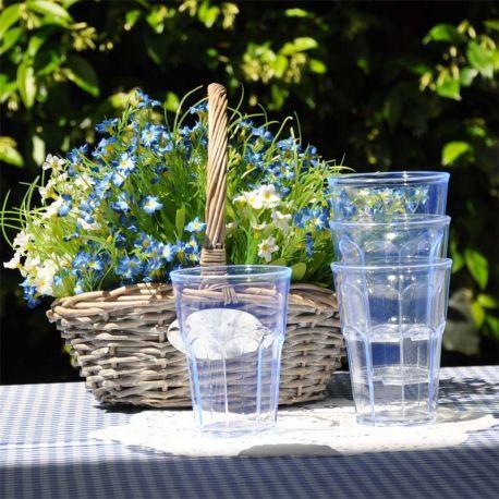 Bicchiere Bibita  Azzurro  Policarbonato