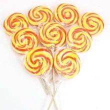 8  Lollipops Arancione giallo